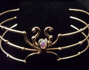 Bronze Spider Choker / Armband
