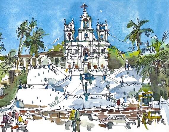 Churches Goa Goa India Panjim Church