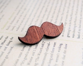 Moustache Brooch Pin | Movember Guitar Strap Pin