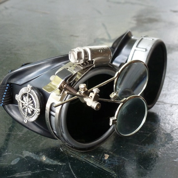 Victorian Steampunk goggles aviator by UmbrellaLaboratory ...