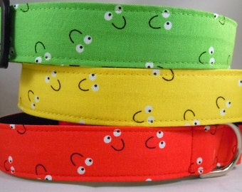 Dog Collar, Martingale Collar, Cat Collar - All Sizes -  Smiles