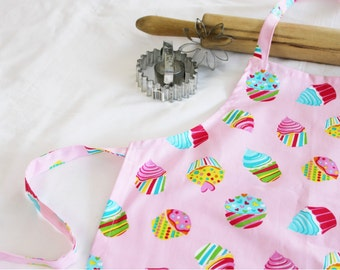 Cotton Candy Cupcakes Child Apron