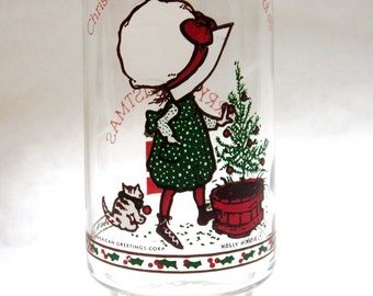 Holly Hobbie Glass Coca Cola Limited Edition