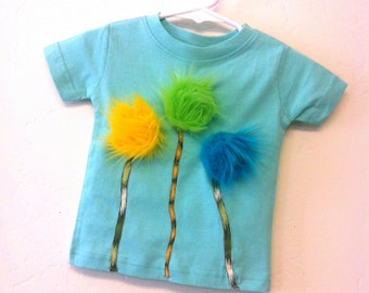 Dr Seuss baby boys Lorax tee READY TO SHIP 3T
