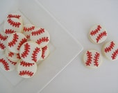 Baseball Cookies  - Mini (2 Dozen)