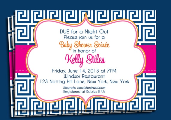 Example Baby Shower Invitation is best invitation sample