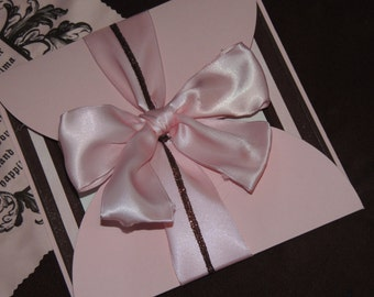 Juicy Couture Inspired Invitation