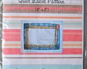 Pretty Pieced Quilt Label Pattern