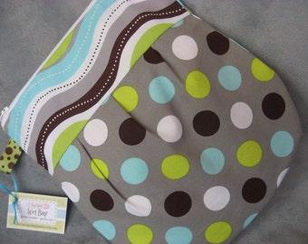 Stylish Zippered Wet Bag- waterproof lining