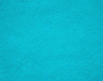 Cuddle Minky from Shannon Fabrics - C3  Dark Turquoise