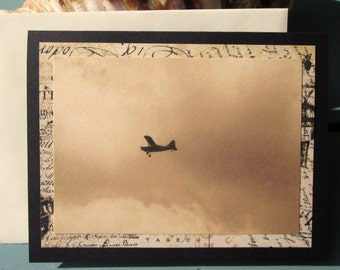Aviation Birthday Card