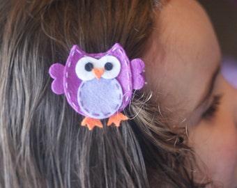 Adorable Owl Hair Clip, Bookmark, Planner Accessory, Badge Reel - Meet Miss Owlexa