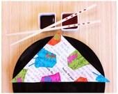 Fabric Table Napkins, Asian Theme, Set of 4, Wedding Gift, Hostess Gift, Housewarming Gift, Table Decor, Eco Friendly, Cotton Cloth Napkins