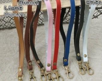 Leather Purse Strap / Purse Handle / Mini Handle - 16cm / 6.3 inch - MHD3