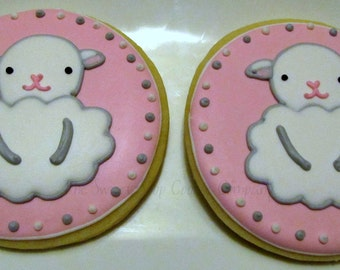 Little Lamb cookies 4 dozen