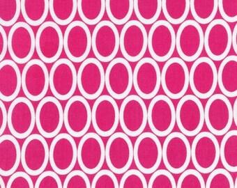 Half Yard Remix Ovals in Bright, Ann Kelle for Robert Kaufman Fabrics, 100% Cotton Fabric