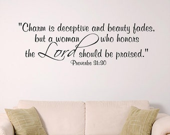 Women of the Lord, bible verse wall art