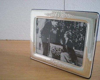 Handmade Sterling Silver Photo Picture Frame 1013 13x18 GB new