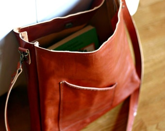 Handmade Leather bag Made in Italy bag Italian leather