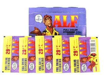 5 Alf Sticker Packs by Diamond Publishing 1987