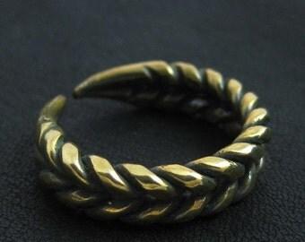 Bronze Slavic ring