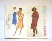 Vintage Vogue Pattern 1970s Calvin Klein Vogue American Designer Original Misses Blouse Skirt 1784 Size 10