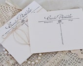 Blank Postcards 4x6 Chic French Postcard Set of 10 Carte Postale