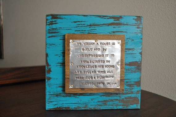 Verses For Wedding Gifts: Scripture House Warming Gift Wedding Gift Bible Verse