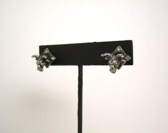 Mounted Goat earrings