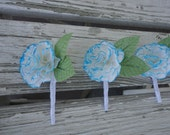 Paper Carnation Boutonniere - Dyed Carnation Groom Boutonniere