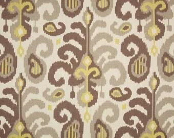 SELL, Window Curtains, custom drapes, very elegant, Duralee Suburban Fergana Ikat, pleated rod top