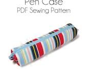 PDF Sewing Pattern -Pen Case-(Downloadable)