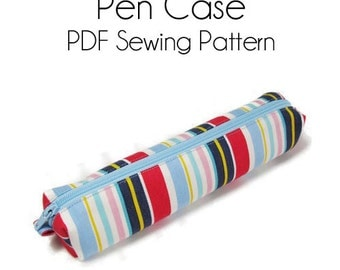 PDF Sewing Pattern -Pen Case-(Downloadable)