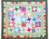Hand Quilted Blanket, Child Size, Lap Quilt