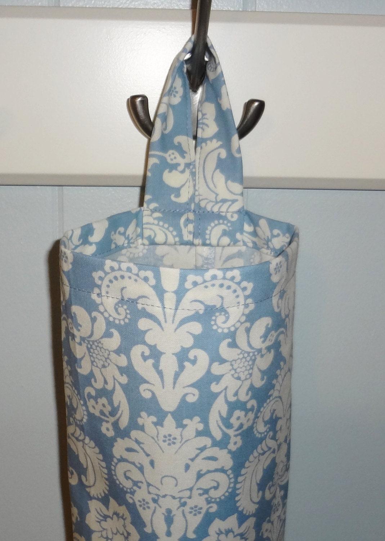 Plastic bag holder grocery storage kitchen by