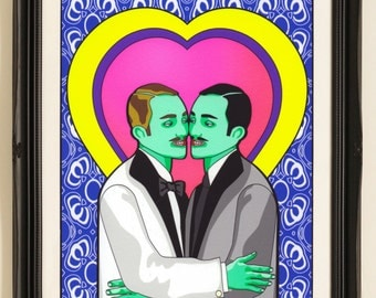 Adam & Steve - Limited Edition Giclee Print