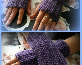 Fingerless Texting Glove PATTERN for Adults