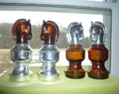 Knights - Avon collectable chess set pieces