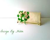 Bridal Accessories-Bridesmaids clutches,Bridal Clutch,Bridesmaid clutch, Wedding Clutch, Wedding Accessories
