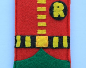 Retro Robin iPhone Case, Halloween Costume, also available in 6' Kindle, ipad, kobo, laptop case.