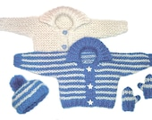 Child's Winter Sweater to Knit PDF Pattern Instant Download