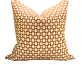 Schumacher Betwixt pillow cover in Spark/Ivory