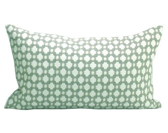 Betwixt lumbar pillow cover in Stone