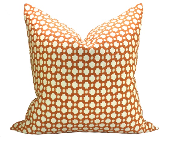Spark Modern Pillows Etsy : Betwixt pillow cover in Spark/Ivory