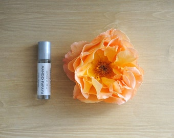 Sweet Mango Tea Perfume Oil, Roll On Perfume Fruity Tropical Fragrance