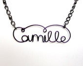 Custom Word or Name Necklace