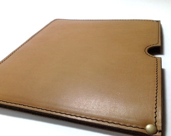 Perfect case for IPad 2 3 4 Bag for iPad Sleeve for iPad 2, iPad 3, iPad 4 Cover IPAD 2 3 4 IPAD holder genuine leather free INITIALS