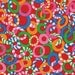 18 X 20 LAMINATED fabric - Jolly Red BPA Free (aka oilcloth, vinyl, coated) Mably