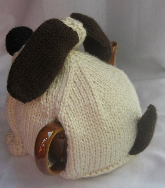 Knitting Pattern For Teacup Dog : Dog Tea Cosy - KNITTING PATTERN - pdf file by automatic ...