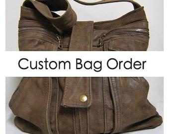 Reserved for Kim - Custom Bag